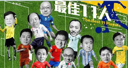 房产大佬踢世界杯 谁当前锋谁守门
