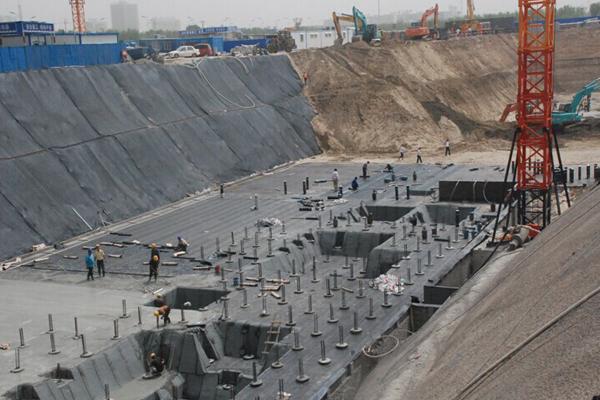 沧兴一品最新施工动态 地下工程建设即将竣工