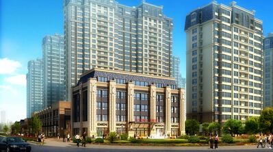 6层高层住宅,一梯两户设计,12#楼共4个单元,13#楼共2个单元,