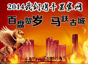 2014我们携手邯郸置家网 百盘贺岁马跃古城