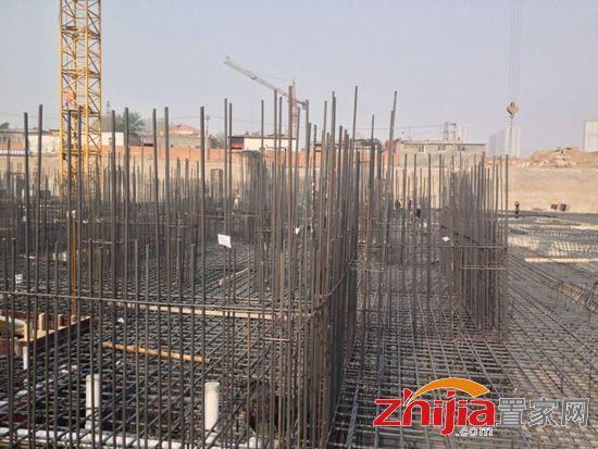 塔吊基础钢筋笼配筋图
