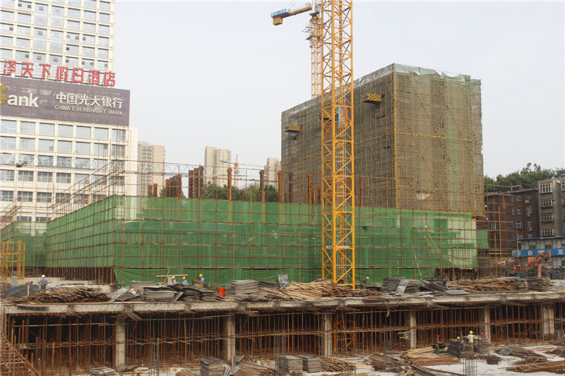 融通国际商业东部即将出地面 住宅盖至8层