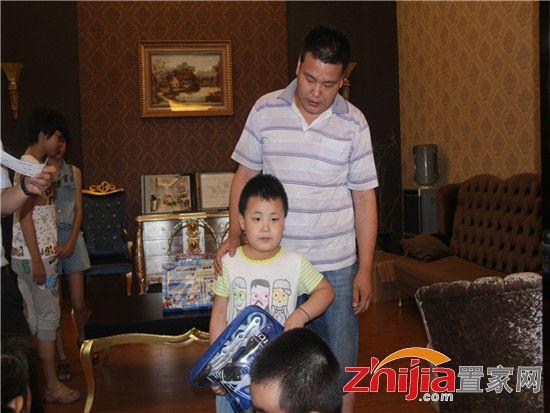 父亲节感恩父母金色漫城儿童主题画展成功举办