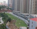丛台花园铂金旺铺火爆发售中 目前项目正在做绿化