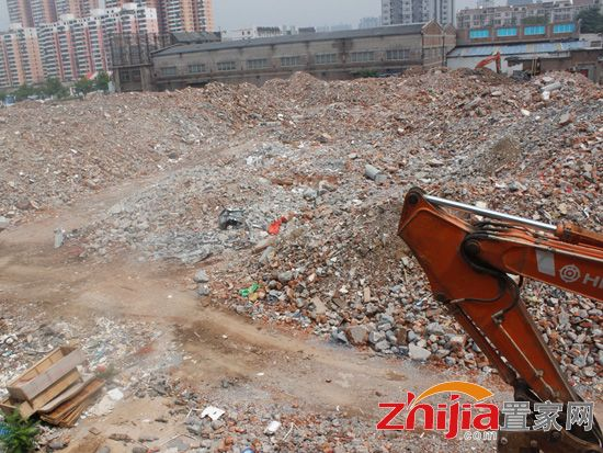 大友时代广场拆迁已进入尾声 7月底拆迁完毕
