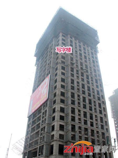 鑫旺国际大厦写字楼现已全面封顶 明年初可交房