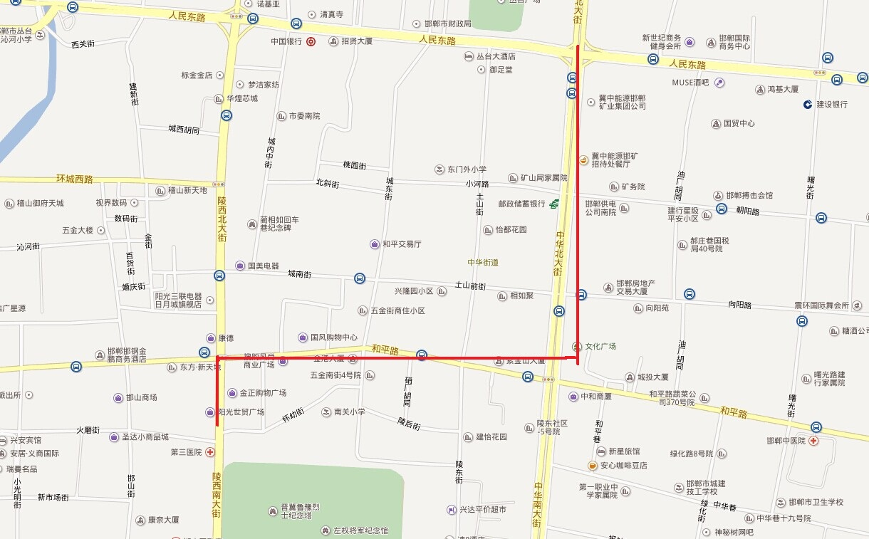 三年内邯郸商圈打开新局面 商业地产的影响力