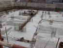 泰达大厦施工稳步推进地下负一层现已封顶