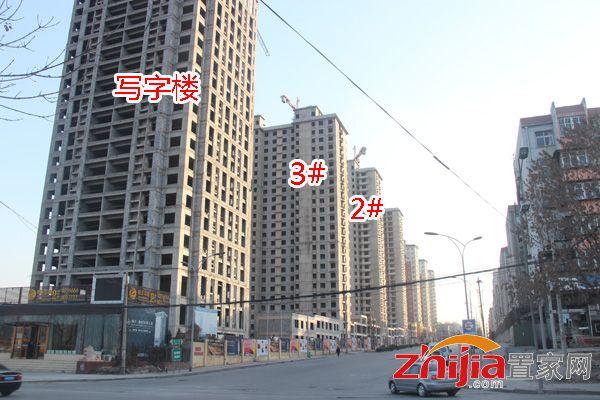 锦玉华庭工程进展神速 正做内部装修和二次结构