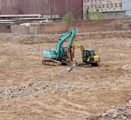 和家大院已全面开工 项目处于土地平整阶段