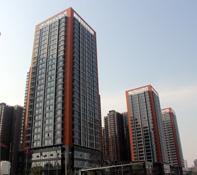 安居东城工地如火如荼 现正在做回填土和路面硬化