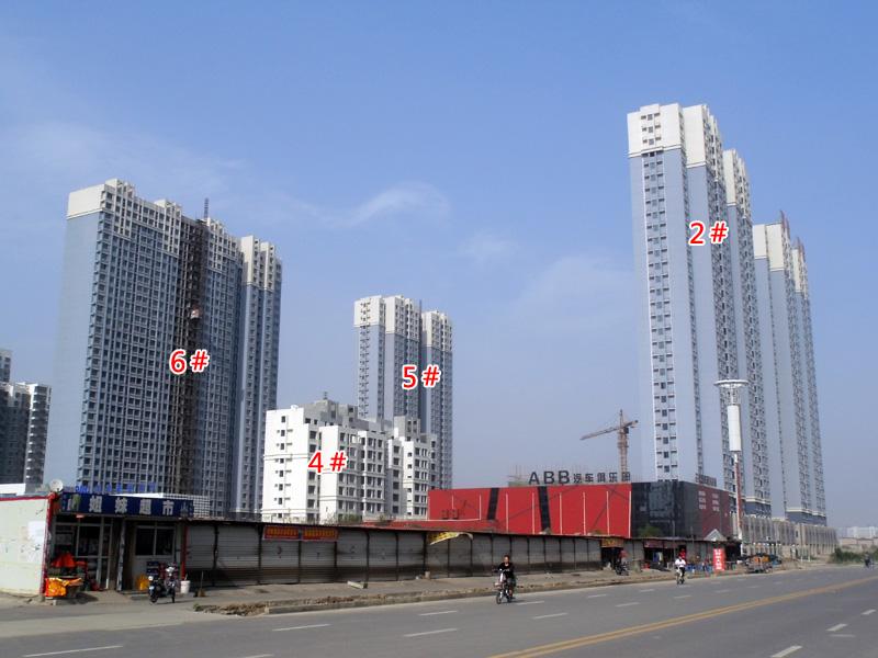 现代华府施工如火如荼 3#楼已出地面7层