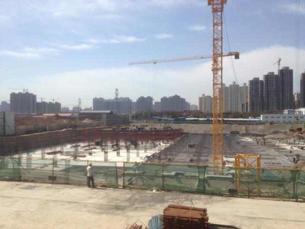 紫御豪庭北部新城高端社区 施工进度如火如荼