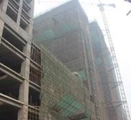 国际金融中心施工神速甲级写字楼即将封顶