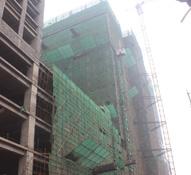 国际金融中心施工神速 5A甲级写字楼荣耀封顶