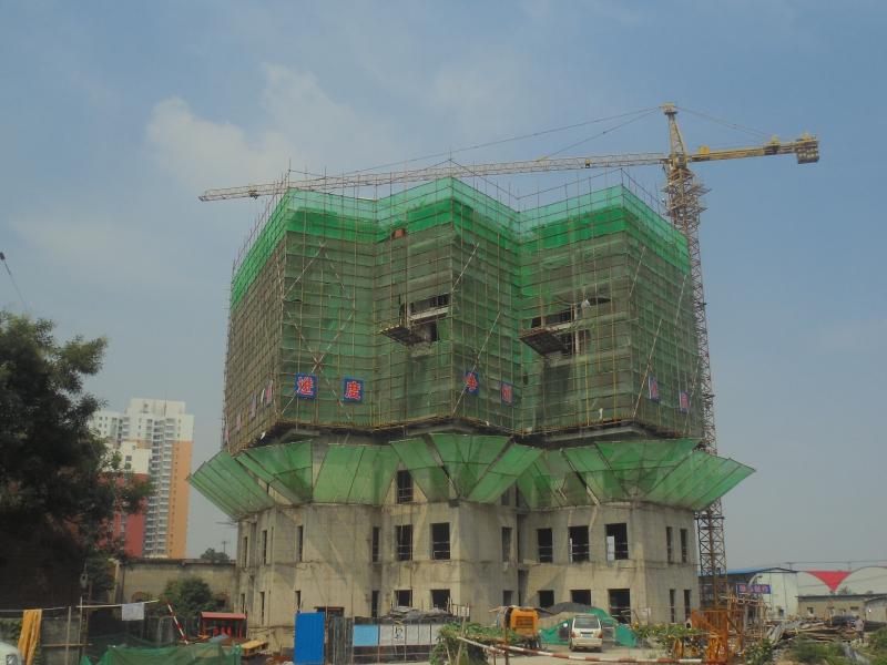 兴盛苑二期火热施工中 35#楼出地面8层
