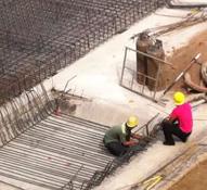 【米兰国际】高层基础开挖 多层正在钢筋绑扎