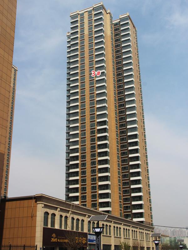 汉成华都工程播报 3#和4#楼均已经完成施工