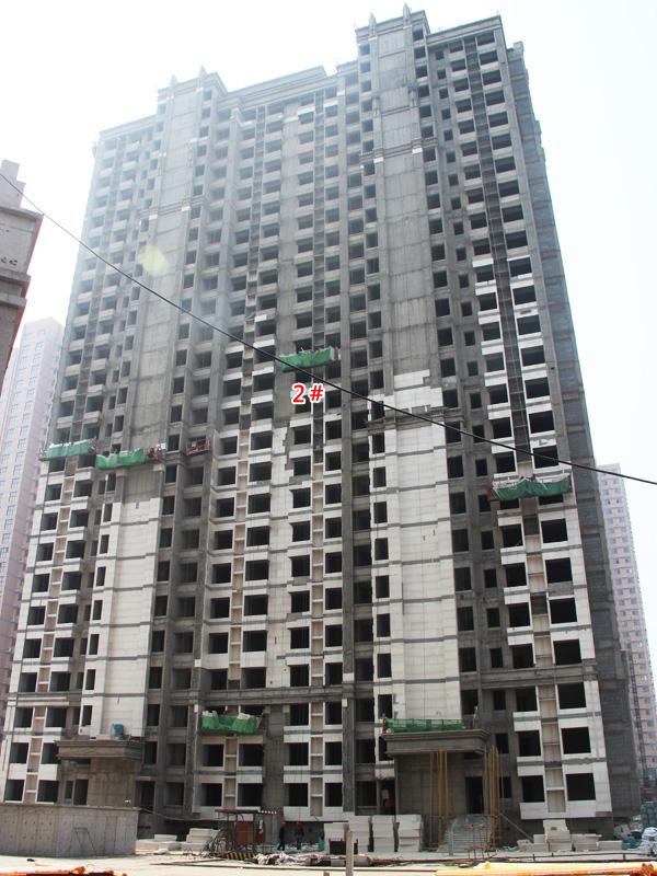 东城尚品春暖四月 项目施工如火如荼