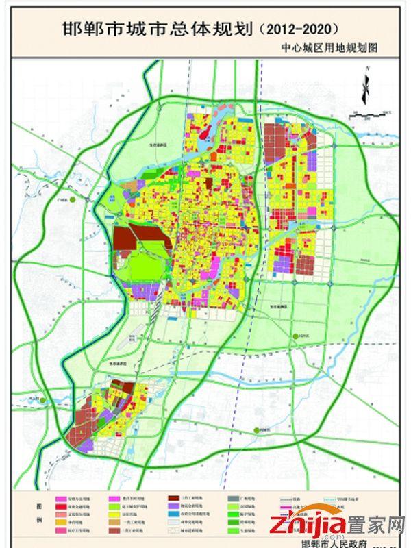 邯郸市规划图-2016年品牌房企入驻邯城 东部新区前景无限