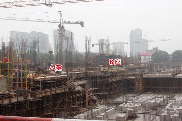 工程播报丨阳光新卓广场你不知道的施工进度