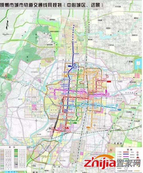 邯郸轻轨近期建设规划公布