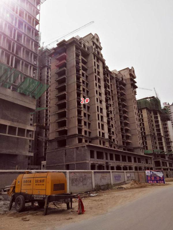 御景江山11月工程播报:现已5栋楼封顶