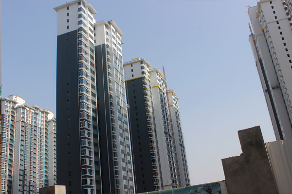 锦绣江南三期准现房施工神速,即将完美呈现
