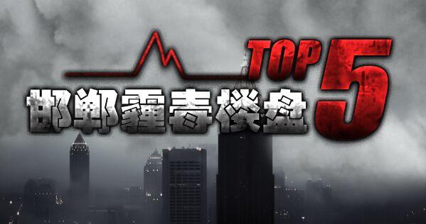 邯郸霾毒楼盘top5