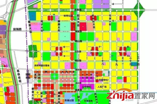 邯郸市北部路网规划图