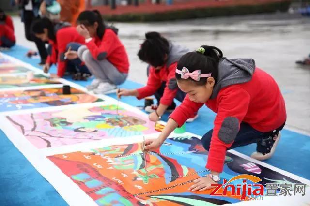 百米画卷盛邀全城 绘出你的新年梦想