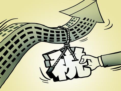 财政部贾康:指望房产税降房价不现实