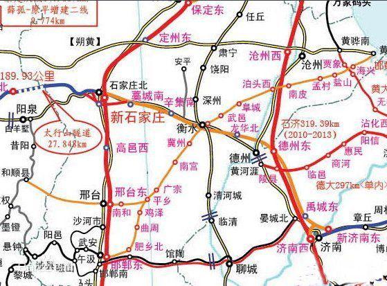 辛集市区街道地图