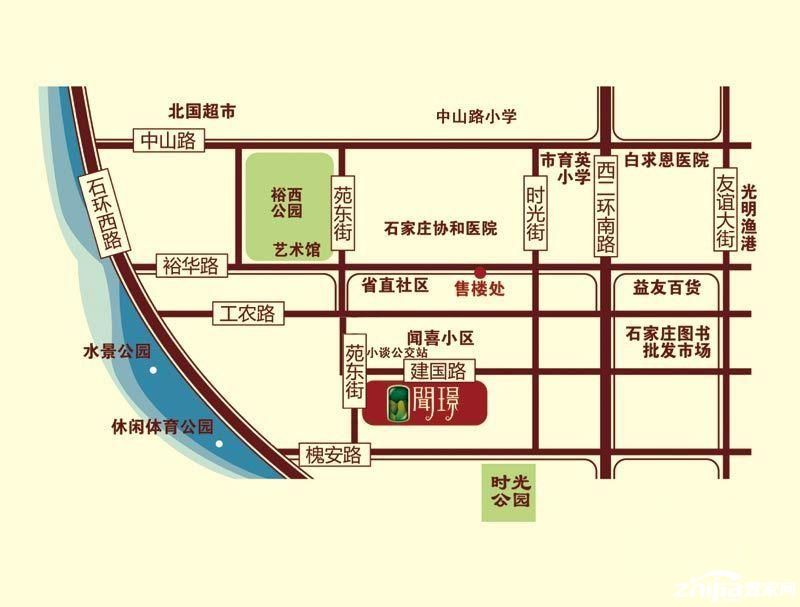 地图 户型 户型图 平面图 800_607