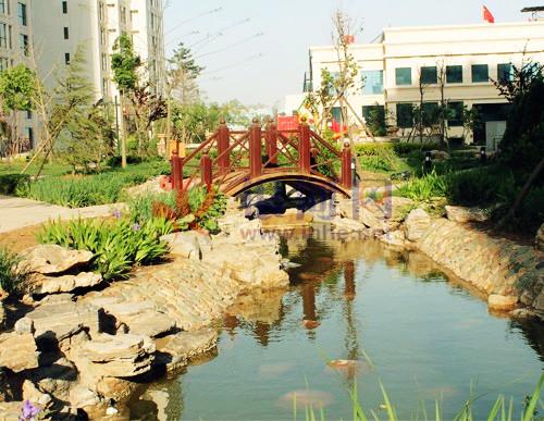 紫鑫苑项目园林景观实景图