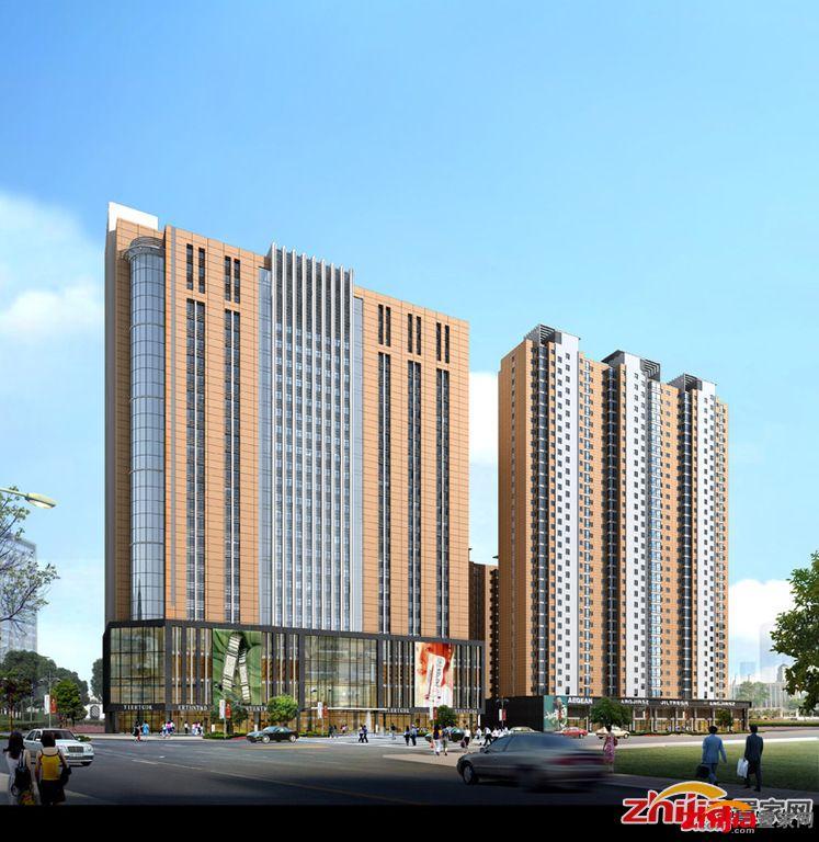 汇龙国际公馆均价6400元/平米 新客站地标建筑_石家庄