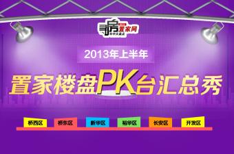 2013年上半年置家楼盘PK台汇总秀