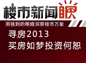 楼市新闻眼第二十八期:寻房2013