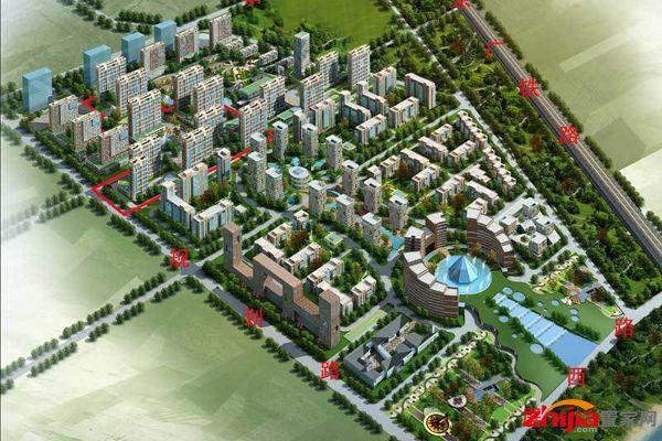 国际总部花园 现推60-90平米经济紧凑型户型