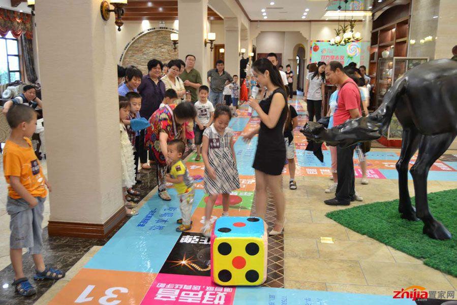 活动期间,端午节与儿童节的活动氛围布置与活动形式,吸引了原本周边