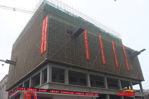 利嘉中心(详情相册户型论坛),位于新华区民族路商业步行街天元名品