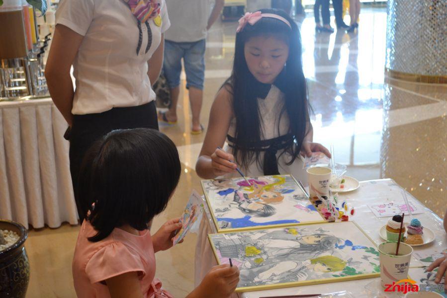 世界湾油画diy 创意指尖描绘理想