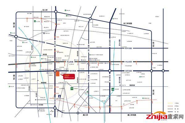 设计,户型面积都在26平米—118平米之间,联邦商务广场项目位于