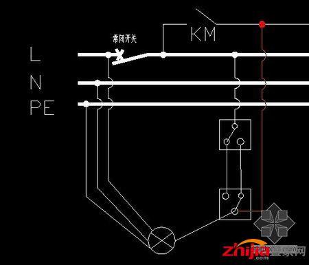 双控开关接线图 最全 含电路图原理和接法