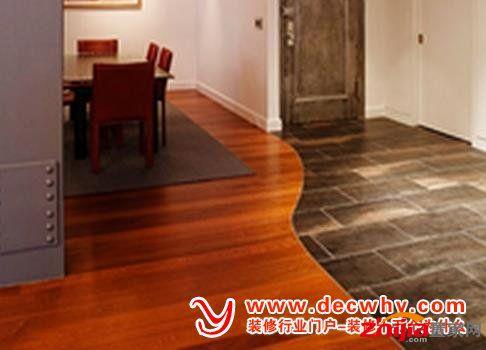 木地板和地砖同时铺时怎么收口?要不要高度一样铺平呢