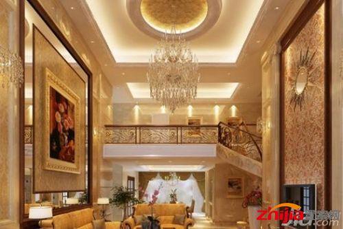客厅欧式吊顶装修效果图欣赏