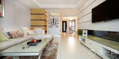 半包9万5现代风格装修 三室两厅一厨两卫 小阁楼