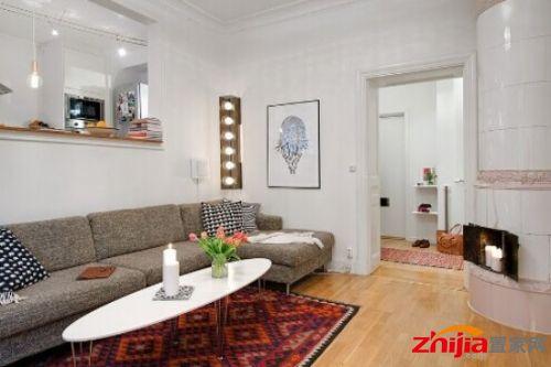 最新室内装修效果图大全2013图片 60平公寓翻新