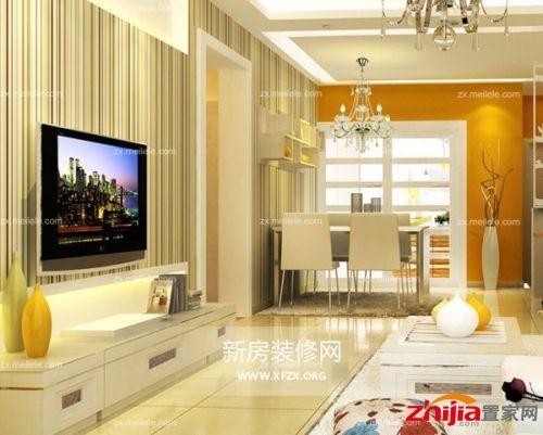 艺术漆电视背墙效果图欧式