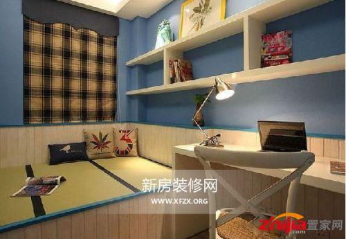 112.77平米三室一廳童話田園風格裝修效果圖